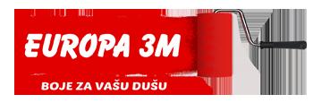 Europa 3M – boje i lakovi – farbara Beograd Logo
